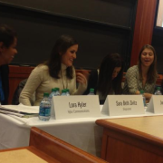 Lora Hyler as moderator of the E-Commerce workshop at 24th annual Dynamic Women in Business conference at Harvard Business School.